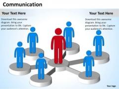Strategy Diagram Communication Diagram Business Diagram