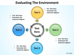 Strategy Diagram Evaluating The Environment Ppt Slides 14 Business Diagram