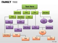 Strategy Diagram Family Tree Sales Diagram