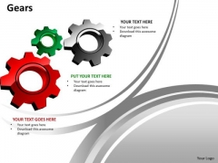 Strategy Diagram Gears Marketing Diagram