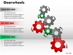 Strategy Diagram Gearwheels Mba Models And Frameworks