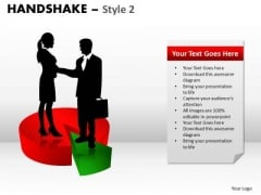 Strategy Diagram Handshake Style 2 Business Cycle Diagram