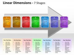 Strategy Diagram Linear Dimensions 7 Stages Consulting Diagram