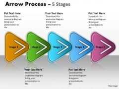 Strategy Diagram Linear Process 5 Stages Mba Models And Framework