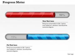 Strategy Diagram Meter Design For Business Progress Sales Diagram
