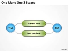 Strategy Diagram One Many One 2 Stages Consulting Diagram
