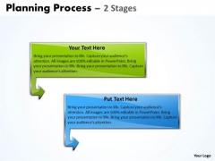 Strategy Diagram Planning Process 2 Stages For Business Marketing Diagram