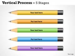 Strategy Diagram Process List 5 Stages Sales Diagram