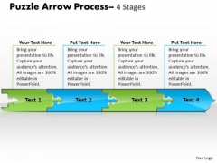 Strategy Diagram Puzzle 4 Stages Consulting Business Framework Model