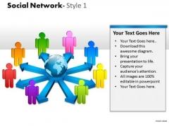 Strategy Diagram Social Network Style 1 Diagram Sales Diagram