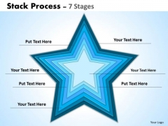 Strategy Diagram Stack Process Template Business Framework Model