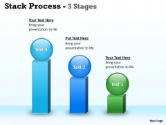 Strategy Diagram Stack Process With 3 Stages Of Planning Marketing Diagram