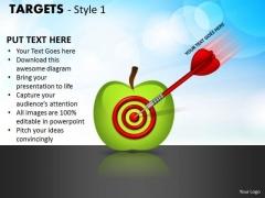 Strategy Diagram Targets Style 1 Business Framework Model