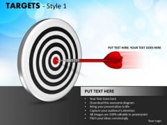 Strategy Diagram Targets Style Sales Diagram